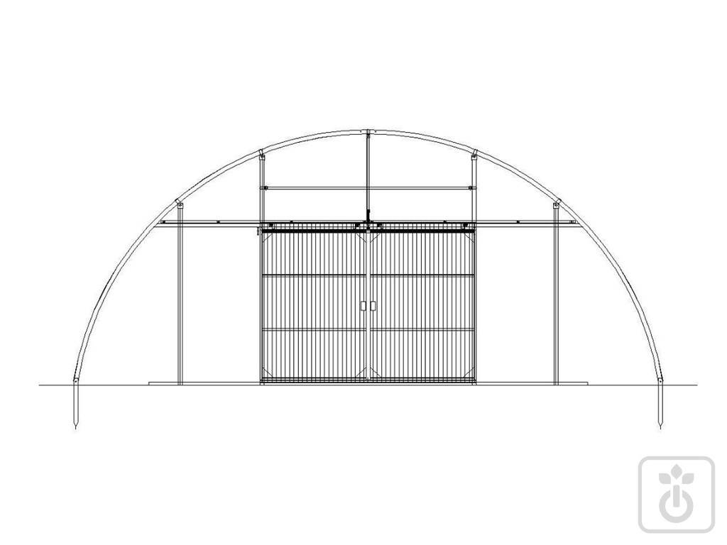 Gome HTR ORTOFLORA_tunnel-for-vegetable-crops-shadow-and-leisure-GOME-Hi-Tech-Resource-8