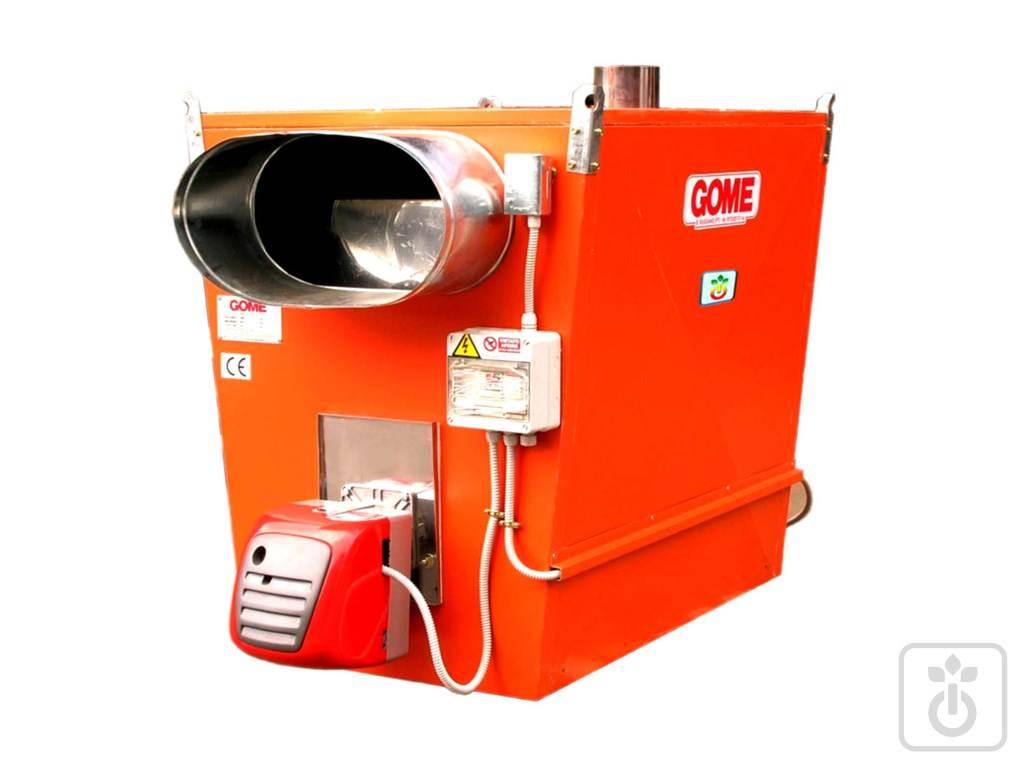 Generatore di aria calda a metano per serreGOME
